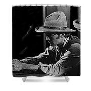 Robert Walker Jr  The War Wagon Homage 1967 Shower Curtain