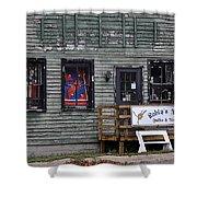 Robin's Nest Store In Autumn Michigan Usa Shower Curtain