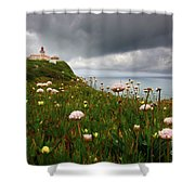 Roca Lighthouse Shower Curtain