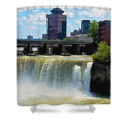 Rochester At High Falls Shower Curtain