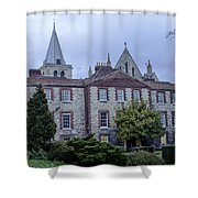 Rochester Cathedral Cafe Shower Curtain