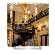 Rochester City Hall Stairs Shower Curtain