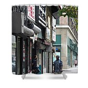 Rochester Main Street 2009 Shower Curtain