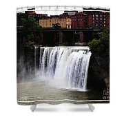 Rochester Ny High Falls Shower Curtain