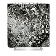 Surreal Lady Shower Curtain