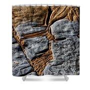 Rock Art Shower Curtain