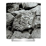 Rock Art Shower Curtain