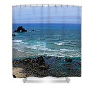 Indian Beach Shower Curtain
