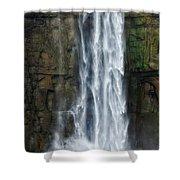 Rock Bottom Shower Curtain