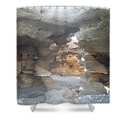 Rock Cave Shower Curtain