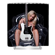 Rock Chic Shower Curtain