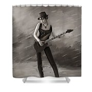 Rock Chick Shower Curtain
