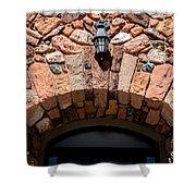 Rock Church Stone Archway - Cedar City - Utah Shower Curtain