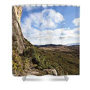 Rock Cliff Southern Madagascar Shower Curtain