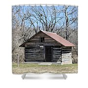 Rock Creek Founder Shower Curtain