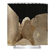 Rock Crystals Shower Curtain