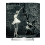 Rock Dancing Shower Curtain