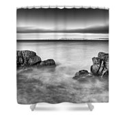 Ballycastle - Rock Face Shower Curtain
