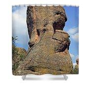 Rock Formation Belogradchik Shower Curtain