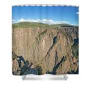 Rock Formations In Black Canyon Shower Curtain