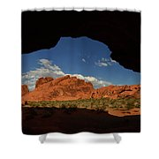 Rock Formations In The Valley Of Fire Shower Curtain