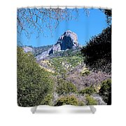 Rock In California Shower Curtain