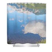 Rock Lake Alberta Canada And Willmore Wilderness Shower Curtain