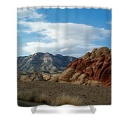 Rock Layers Shower Curtain