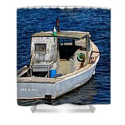 Rock N Roll In Maine Shower Curtain