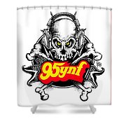Rock 'n Roll Pirates Shower Curtain