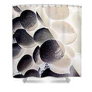 Rock No.19 Shower Curtain