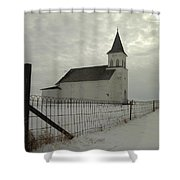 Rock Of Ages In North Dakota Shower Curtain