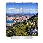 Rock Of Gibraltar Shower Curtain