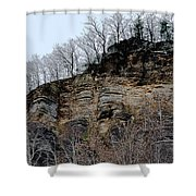 Rock Of Many Faces  Shower Curtain