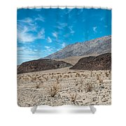 Rock Piles Shower Curtain