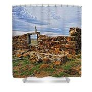 Rock Hills Prairie  Shower Curtain