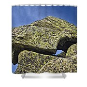 Rock Puzzle Shower Curtain