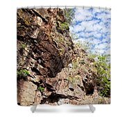 Rock Solid Shower Curtain