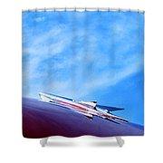 Rocket Shower Curtain