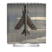 Rocket Ship Shower Curtain