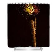 Rockets Skyward  Shower Curtain by Saija  Lehtonen