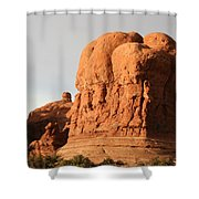 Rockformation Arches Park Shower Curtain