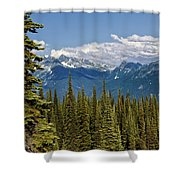 Rockies Shower Curtain