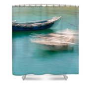 Rocking In The Breeze Shower Curtain