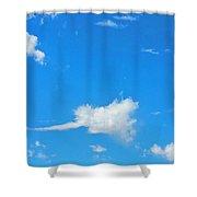 Rock'n  Roll Cloud'z Shower Curtain