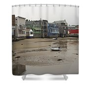 Rockport At Low Tide Shower Curtain