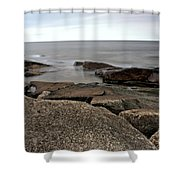 Rockport Cove Shower Curtain