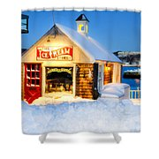 Rockport Winter Shower Curtain