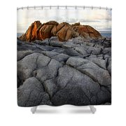 Rocks 2.0 Shower Curtain