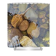 Rocks And Pebbles 2 Shower Curtain